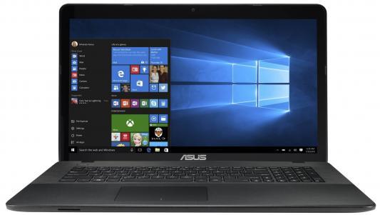 """Ноутбук ASUS X751SA-TY165T 17.3"""" 1600x900 Intel Pentium-N3710 90NB07M1-M03120"""
