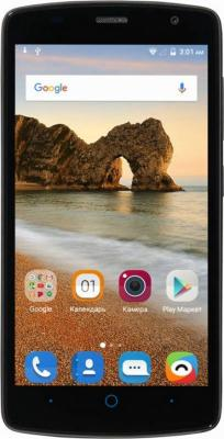 Смартфон ZTE Blade L5 Plus черный 5 8 Гб Wi-Fi GPS 3G смартфон zte blade v8 mini 32gb gold