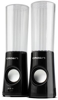 Колонки Crown CMS-511 2x3 Вт черный