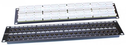 """все цены на Патч-панель Hyperline PP3-19-48-8P8C-C5E-110D 19"""" 48 портов RJ-45 категория 5e Dual IDC черный онлайн"""