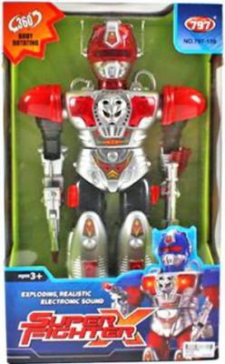 Робот электронный Shantou Gepai 42 см со звуком светящийся 797-139 робот трансформер shantou gepai tyrant wasp 45 см на радиоуправлении со звуком светящийся танцующий 6021