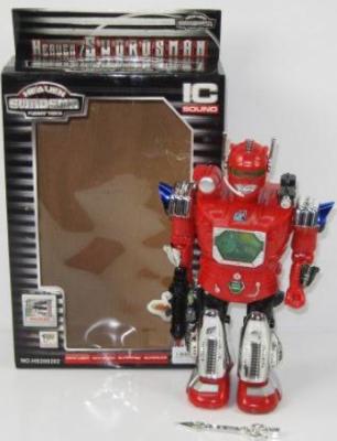 Робот электронный Shantou Gepai Галактический, свет, звук 38 см со звуком светящийся 200202 робот электронный tongde е нотка со звуком светящийся ассортимент t240 d5572