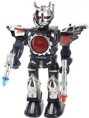 Боевой робот Shantou Gepai Макс 36 см двигающийся со звуком светящийся