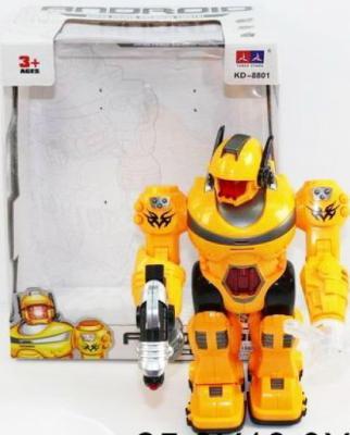 Робот электронный Shantou Gepai 30 см со звуком светящийся KD-8801 стоимость