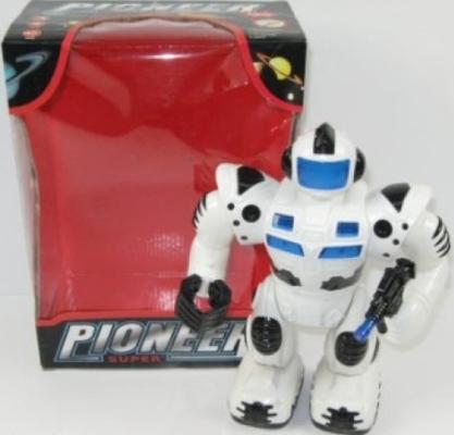Робот электронный Shantou Gepai Пионер 29 см двигающийся со звуком светящийся 99111 боевой робот shantou gepai властители уран 29 см двигающийся со звуком светящийся 921