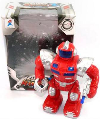Боевой робот Shantou Gepai 29 см двигающийся со звуком светящийся 99111-2 боевой робот shantou gepai 633126 36 см на радиоуправлении со звуком светящийся двигающийся танцующий