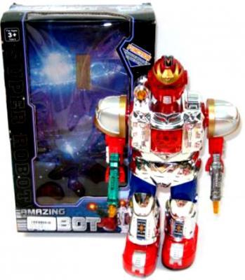 Боевой робот Shantou Gepai Властители - Уран 29 см двигающийся со звуком светящийся  921