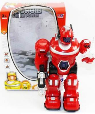 Боевой робот Shantou Gepai KD-8801A 25 см со звуком светящийся 623405
