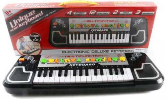 Купить Синтезатор Shantou Gepai, черный, Детские музыкальные инструменты