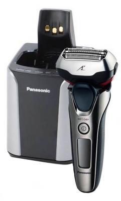 Бритва Panasonic ES-LT8N-S820 серебристый чёрный бритва panasonic es ga21 чёрный серебристый