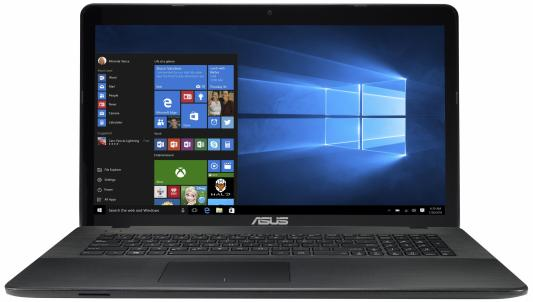 "Ноутбук ASUS X751SV-TY008T 17.3"" 1600x900 Intel Pentium-N3710 90NB0BR1-M00140"