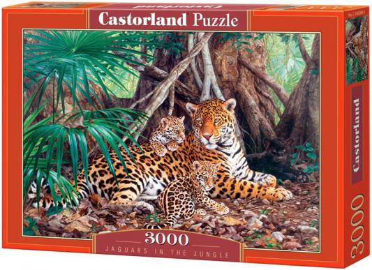 Пазл Кастор Ягуары в джунглях 3000 элементов C-300280