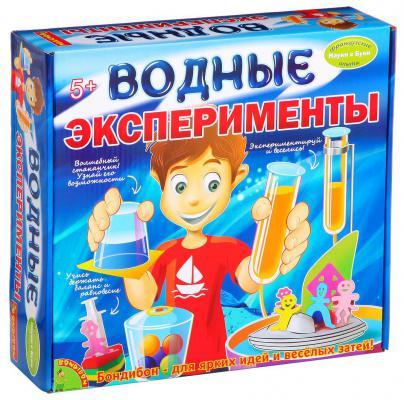"""Игровой набор BONDIBON """"Французские опыты Науки с Буки"""" - Водные эксперименты ВВ1150"""