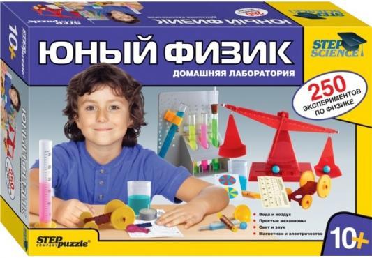 Игровой набор Step Puzzle Домашняя лаборатория - Юный физик 76093 набор карточек step puzzle