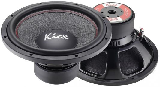 Сабвуфер Kicx ZC15 динамик 15 38см 700-1400Вт 2Ом установочный комплект kicx pk 28 2ch