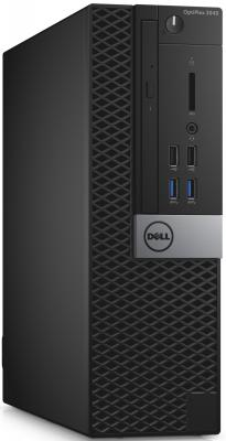 Системный блок DELL Optiplex 3046 SFF i3-6100 3.7GHz 4Gb 500Gb HDG530 DVD-RW Linux клавиатура мышь серебристо-черный 3046-0131