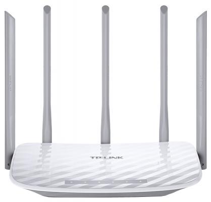 Беспроводной маршрутизатор TP-LINK Archer C60 802.11acbgn 1317Mbps 5 ГГц 2.4 ГГц 4xLAN RJ-45 белый
