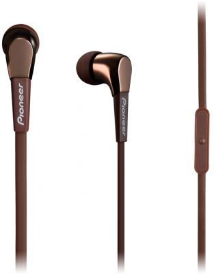 Гарнитура Pioneer SE-CL722T-T коричневый