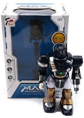 """Интерактивный робот Shantou Gepai """"Max"""" со звуком светящийся двигающийся  7M-411"""