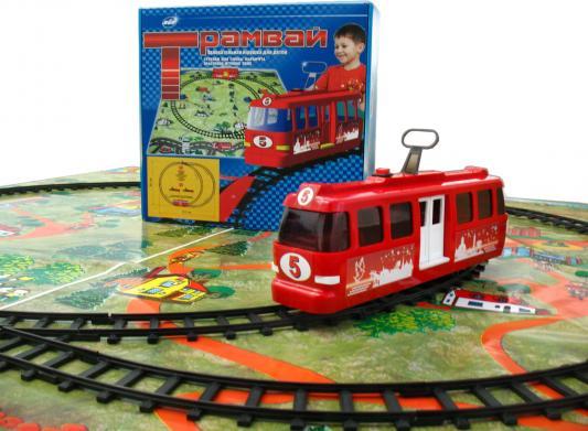 Купить Настольная игра Sport Toys Трамвай Тр1, Спорт Тойз, Детская железная дорога