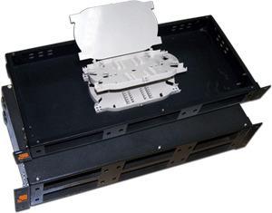 Полка оптическая наборная Lanmaster LAN-FOBM-RM-3P 19 стационарная 1U патч панель lanmaster twt pp24utp 19 1u