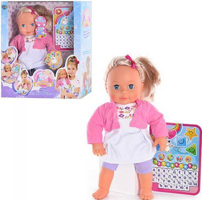 Кукла Shantou Gepai Мила и ее обучающий планшет.