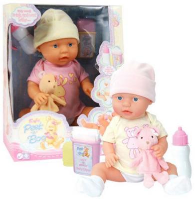 Кукла-младенец Shantou Gepai 09806 46 см пьющая писающая в ассортименте кукла младенец shantou gepai 8018l4 35 см писающая пьющая