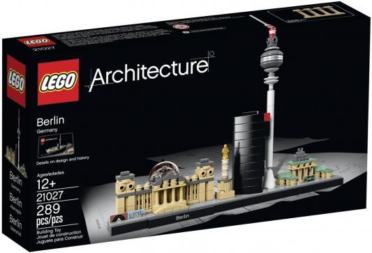 Конструктор Lego Architecture Берлин 289 элементов 21027