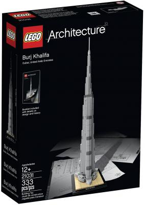 Конструктор Lego Architecture Бурдж-Халифа 333 элемента 21031