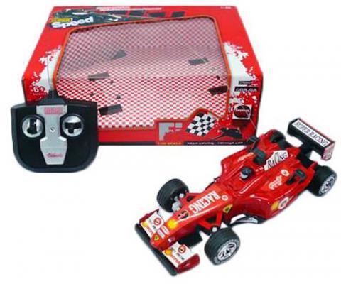 Машинка на радиоуправлении Shantou Gepai Super Racing - Гоночный болид красный от 6 лет пластик 1:20, 4 канала 998-9A