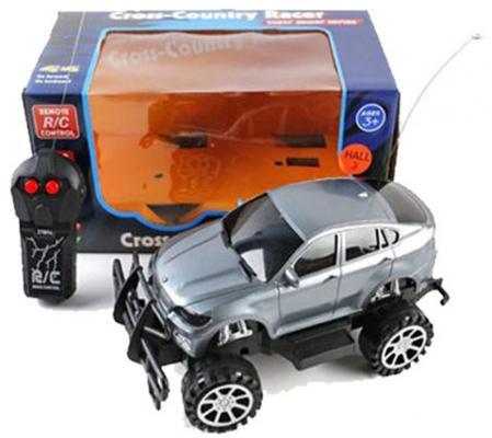 Машинка на радиоуправлении Shantou Gepai Cross-Country Racer пластик от 3 лет серебристый 1:16