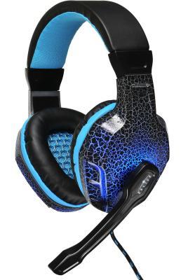 Наушники Oklick HS-L400G черно-синий