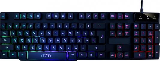 Клавиатура проводная Oklick 760G USB черный 381063