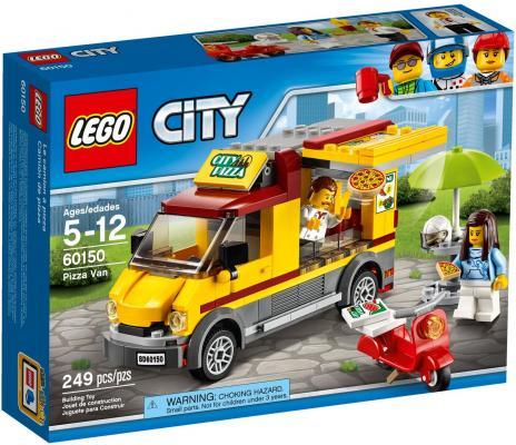 Конструктор LEGO City: Фургон-пиццерия 249 элементов 60150 конструктор bela urban фургон пиццерия 261 дет 10648