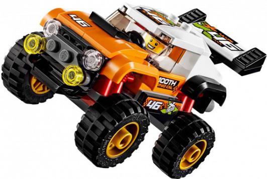 Конструктор LEGO Внедорожник каскадера 91 элемент 60146