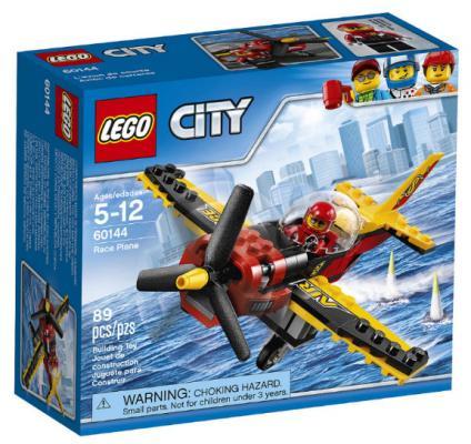 Конструктор LEGO City: Гоночный самолёт 89 элементов 60144