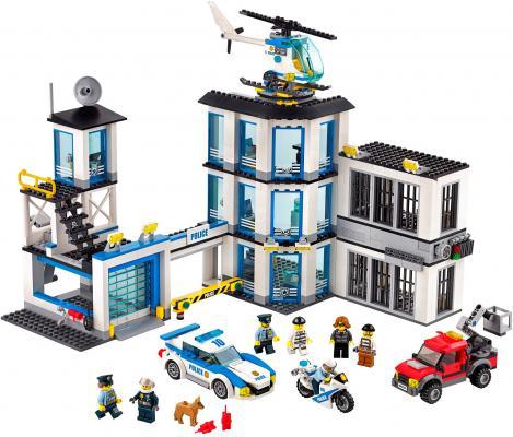 Конструктор Lego City: Полицейский участок 894 элемента 60141