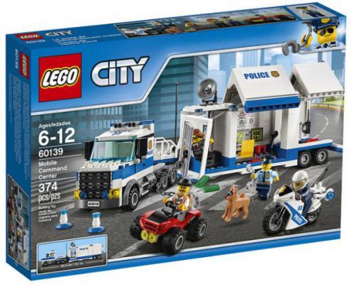 Конструктор Lego City: Мобильный командный центр 374 элемента 60139