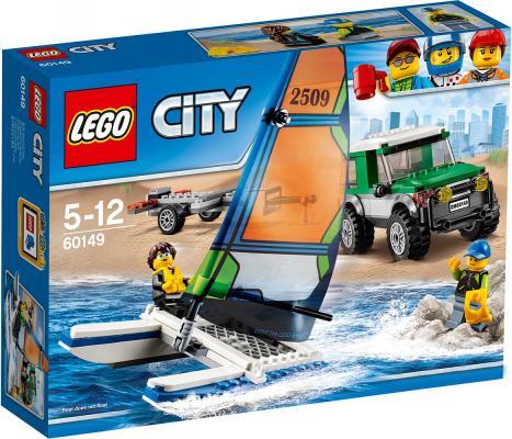 Конструктор Lego City: Внедорожник с прицепом для катамарана 198 элементов 60149