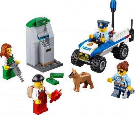 Конструктор Lego Набор для начинающих - Полиция 80 элементов 60136