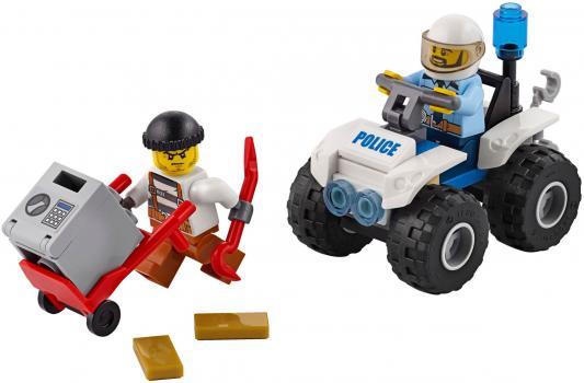 Конструктор LEGO Полицейский квадроцикл 47 элементов  60135