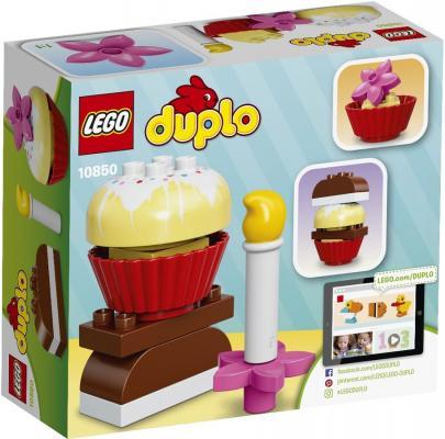 """Конструктор LEGO """"Duplo"""" - Мои первые пирожные 8 элементов 10850"""