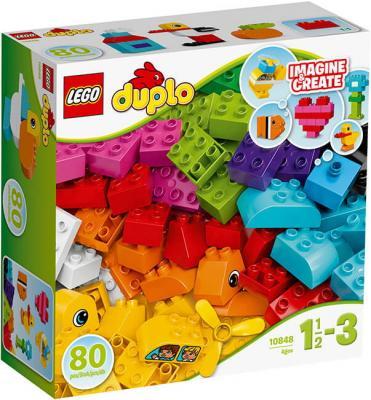 Конструктор LEGO Мои первые кубики 80 элементов 10848