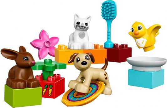 Конструктор LEGO Домашние животные 15 элементов 10838 конструктор lego мои первые домашние животные 18дет