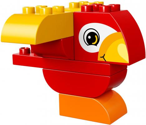 цена на Конструктор LEGO Duplo Моя первая птичка 10852 7 элементов