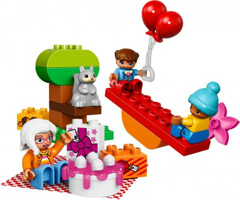 Конструктор Lego День рождения 19 элементов 10832