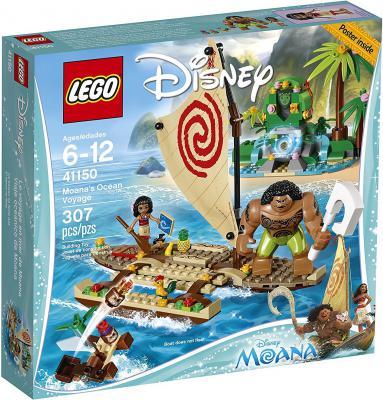 Конструктор LEGO Disney Princesses Путешествие Моаны через океан 307 элементов 41150 конструктор lego disney princesses экзотический дворец жасмин 41061
