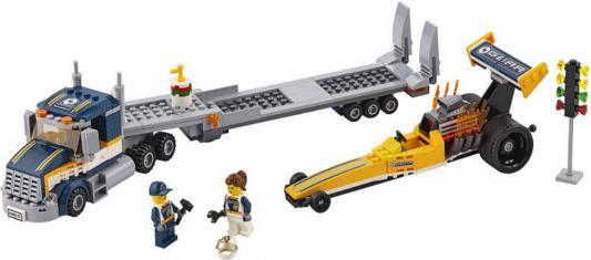 Конструктор LEGO Грузовик для перевозки драгстера — 333 элемента 60151