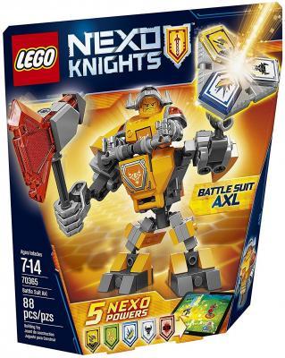 Конструктор LEGO Nexo Knights Боевые доспехи Акселя 88 элементов 70365