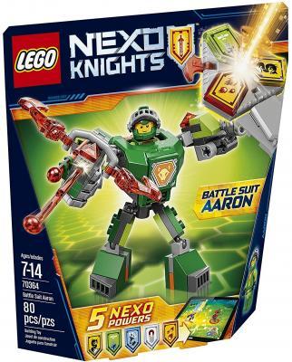 Конструктор Lego Nexo Knights Боевые доспехи Аарона 80 элементов 70364